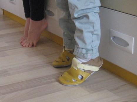 За естествения избор на детски обувки
