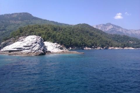 На море в Гърция на о. Тасос